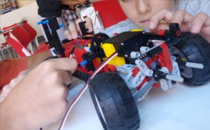 FCR car robot